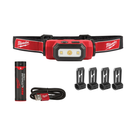 HEADLAMP USB RECHARGEABLE 475